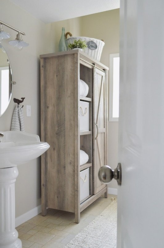 Bathroom Makeover by Fox Hollow Cottage