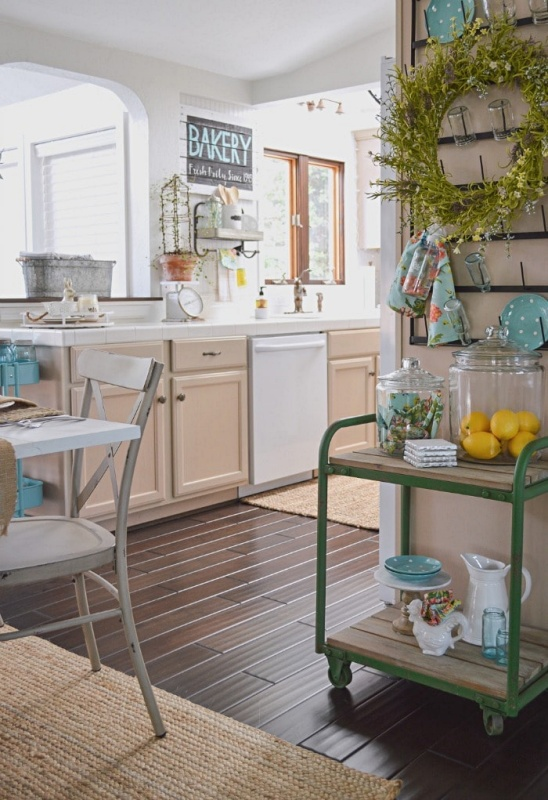 Spring Kitchen by Fox Hollow Cottage