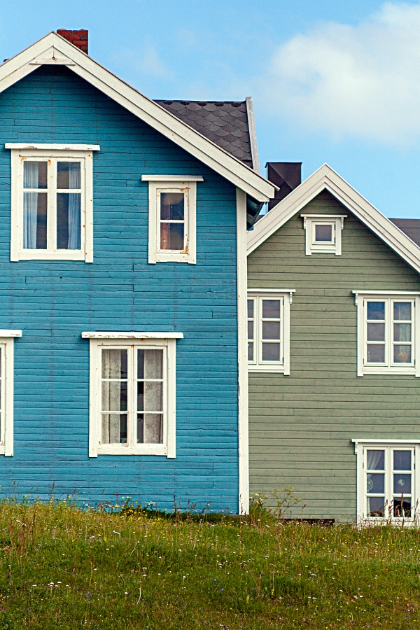 Colorful Country Swedish Homes