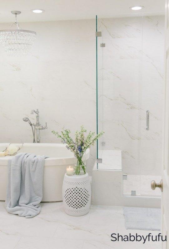 Master Bathroom by Shabbyfufu