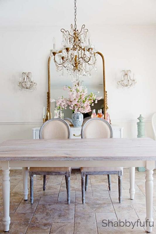 Shabby Chic Dining Room by Shabbyfufu