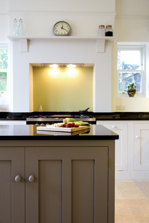 English Style Kitchen with Center Island