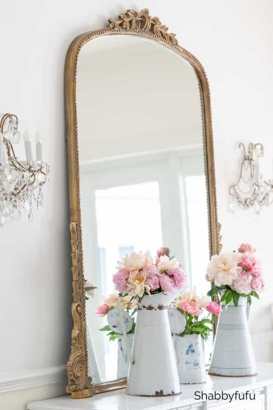 Shabbyfufu Vintage Mirror