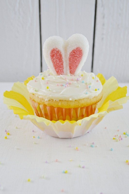 Bunny Cupcake by Fox Hollow Cottage