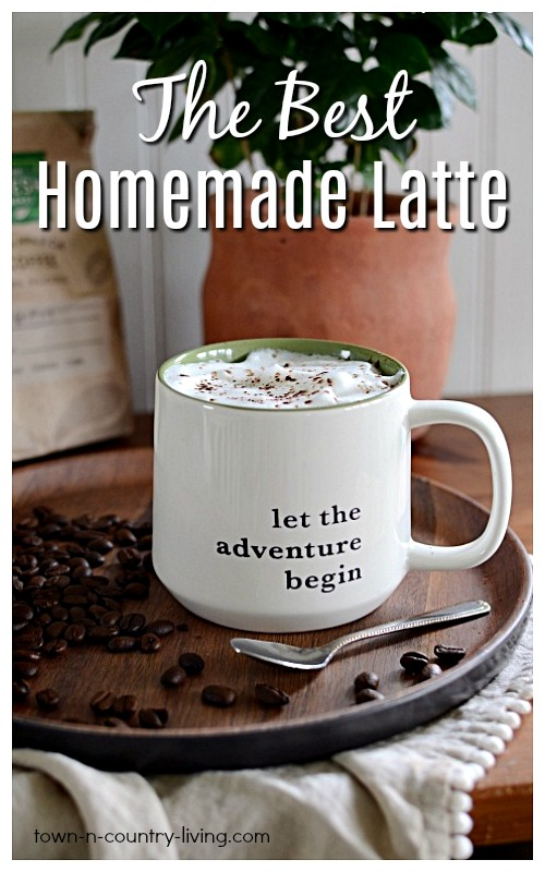 The Best Homemade Latte Ever - with no machine!