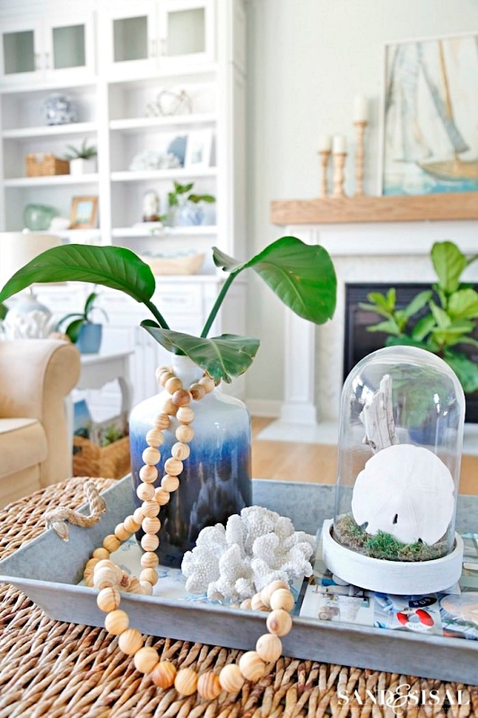 Spring Greenery by Sand and Sisal
