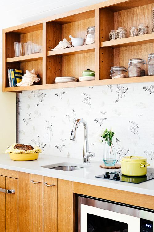 Minimalist Kitchen in Tiny House