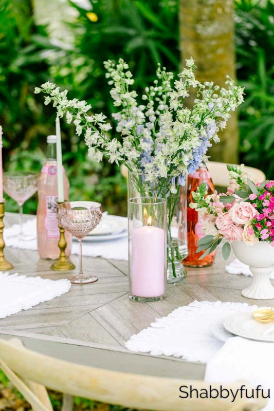 Spring Tablescape by Shabbyfufu