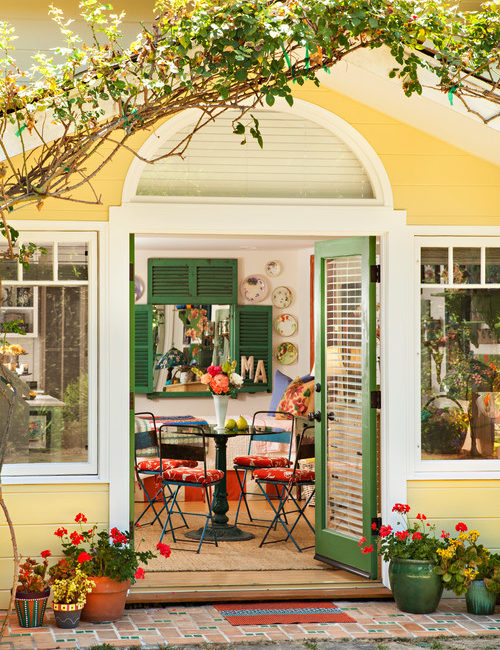 Yellow Flea Market Cottage
