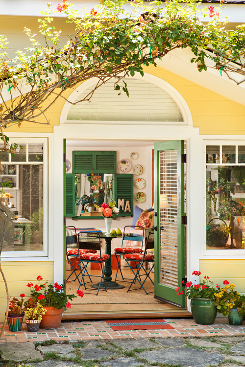 Yellow Flea Market Cottage