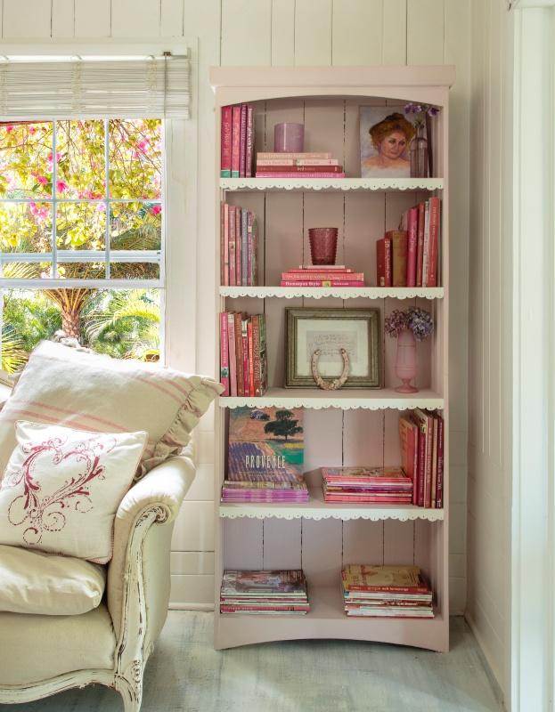 Romantic Prairie Style Shabby Chic Living Room