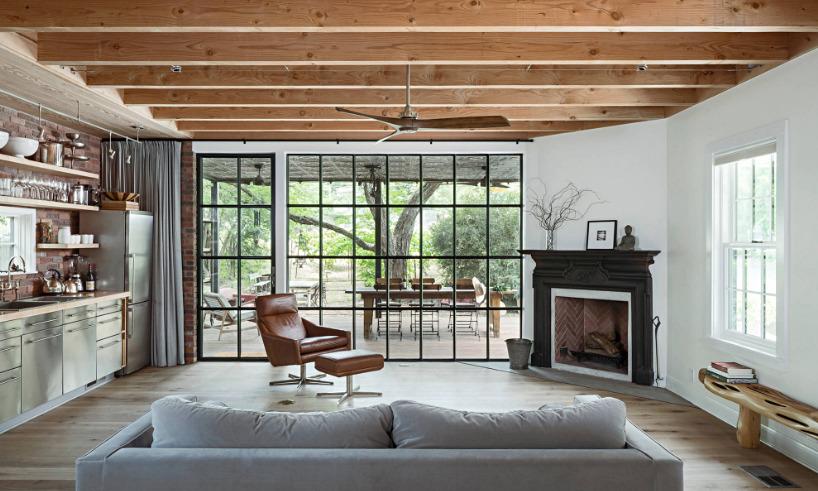 Open Concept Living Room in Texas