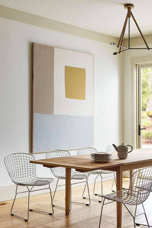 Contemporary Scandinavian Style Dining Room