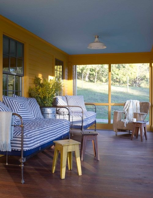 Summer Sleeping Porch with Daybed