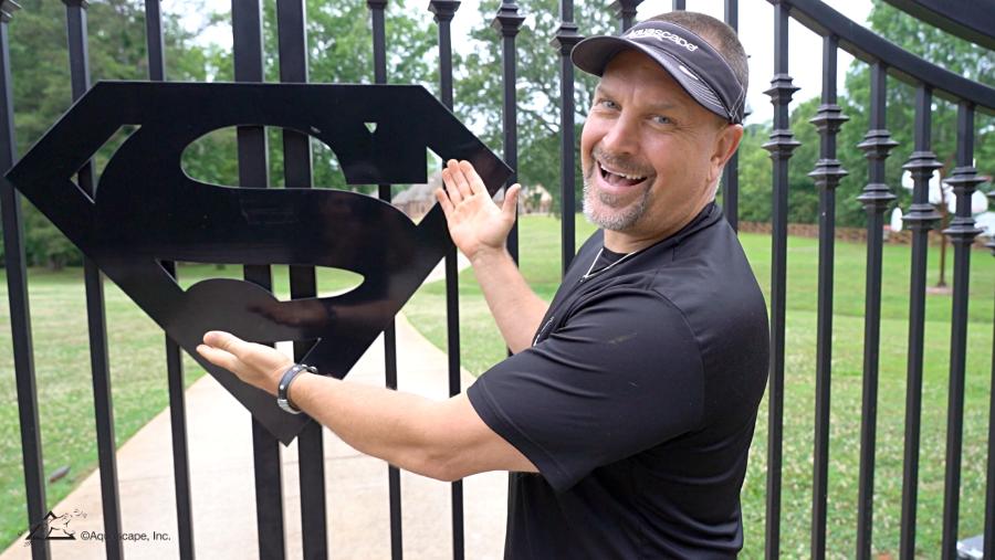 Greg Wittstock at Shaq's House