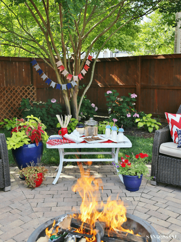 Summer Lawn Activities by Sand and Sisal