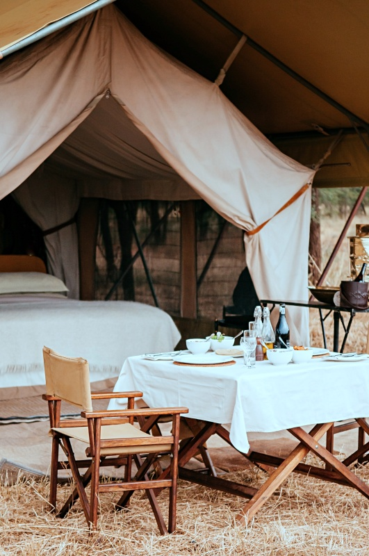 Glamping Trip for Summer Activity Idea
