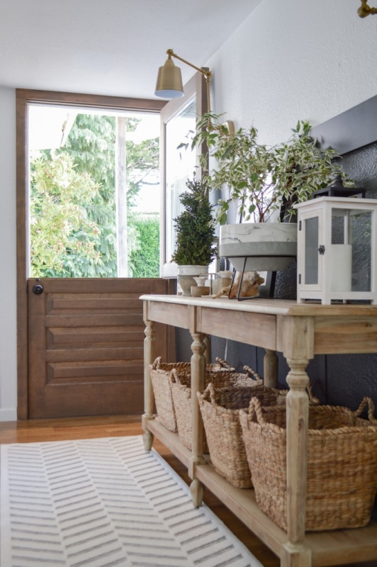 Summer Entryway by Fox Hollow Cottage