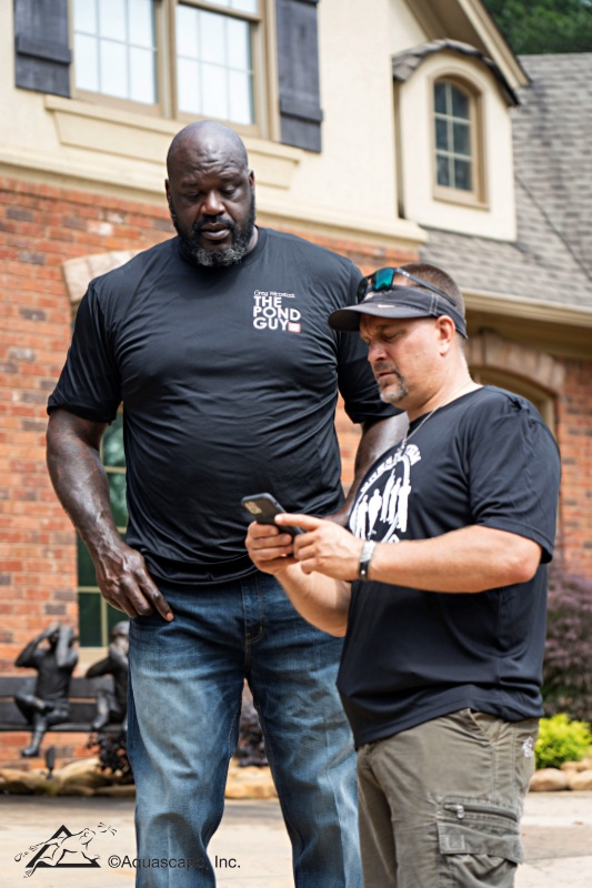 Shaquille O'Neill and Greg Wittstock