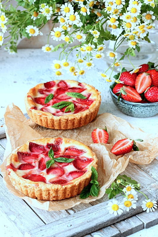 Strawberry Tarts and Pies