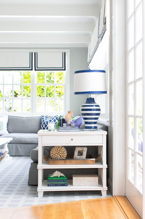 Light and Fresh Beach Style Living Room