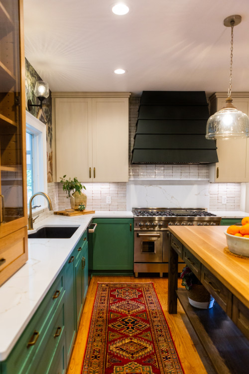 Eclectic Kitchen Tour That's Warm, Cozy, and Functional