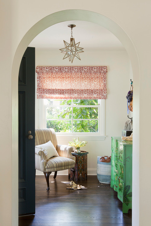 Cozy Nook with Arm Chair in Spanish Style House
