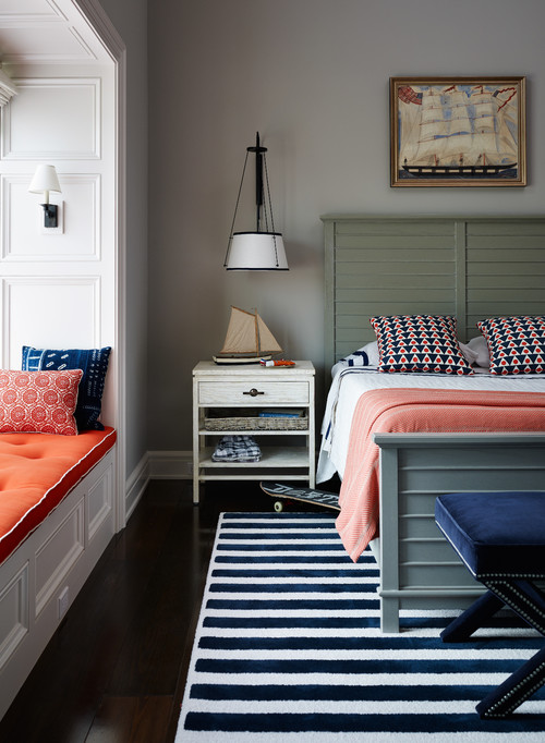 Country Style Nautical Bedroom