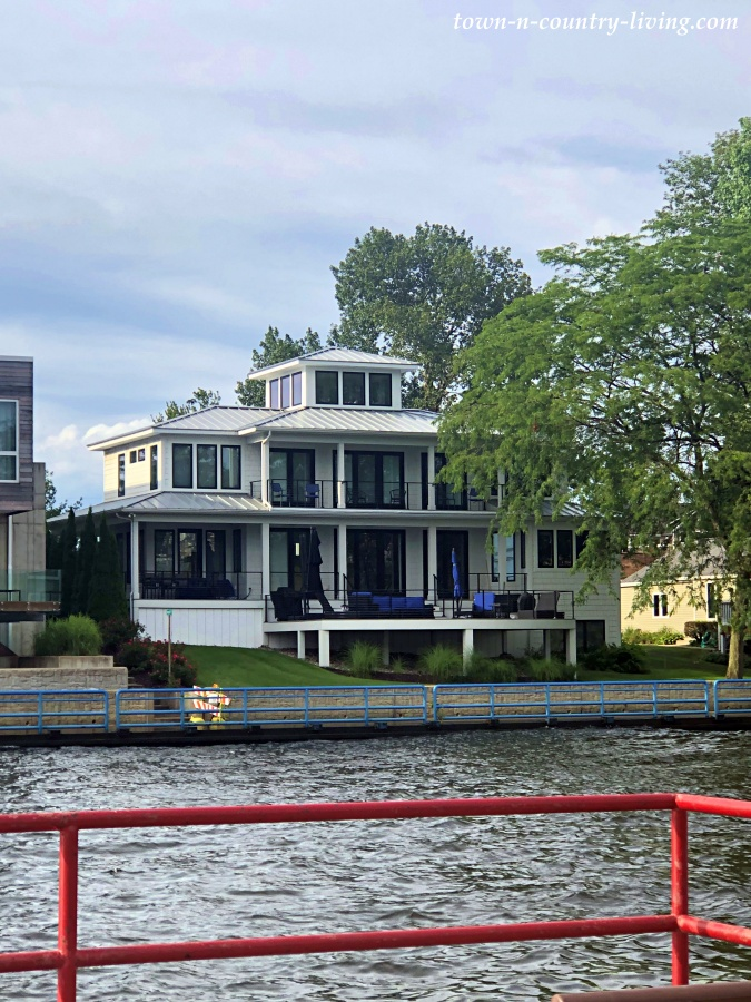 House on Black River in South Haven