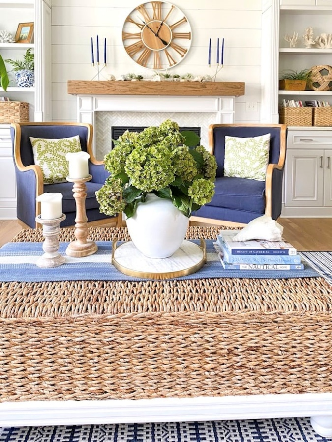 Coffee Table Styling by Sand and Sisal