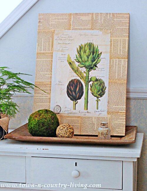 DIY Botanical Print