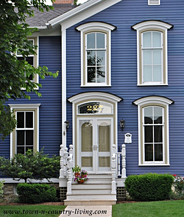 Deep Purple Victorian House in Naperville, IL
