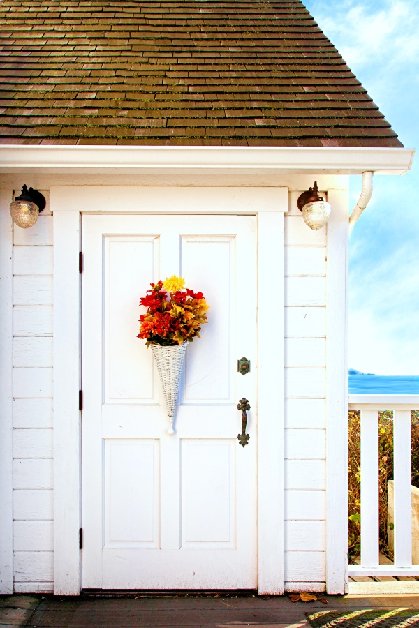Little White Cottage by the Sea