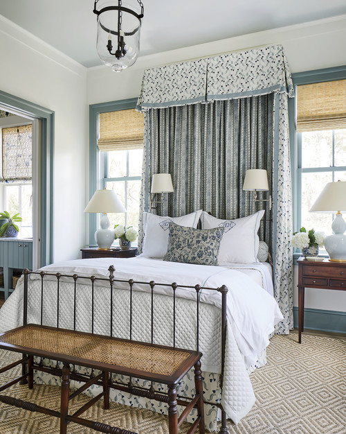 Plantation Style Bedroom in Southern Living Idea House