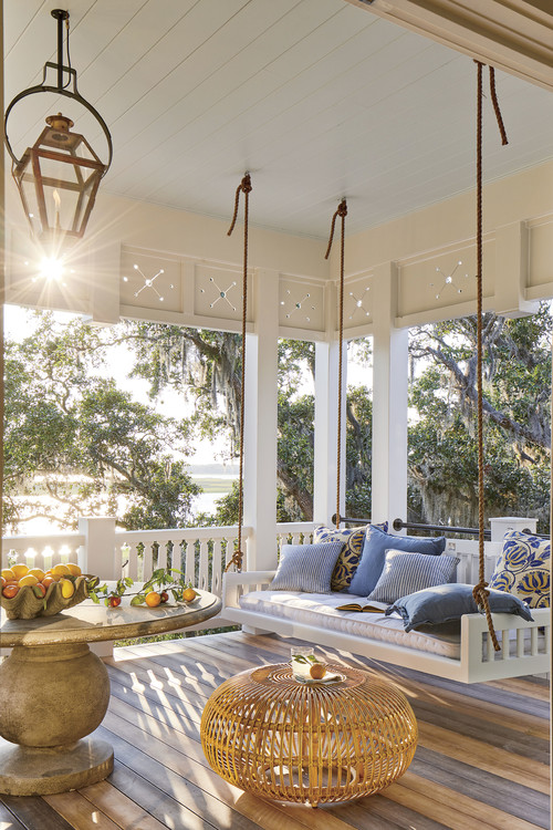Porch Swing on Southern Living Idea House