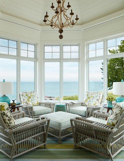 Sun Room Overlooking the Ocean