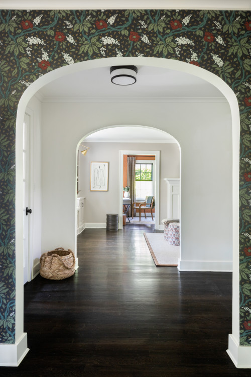 Archways in Tudor Style Home on Long Island