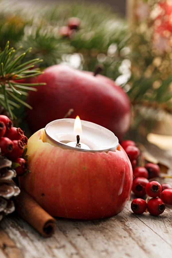 Apple Votive Candles