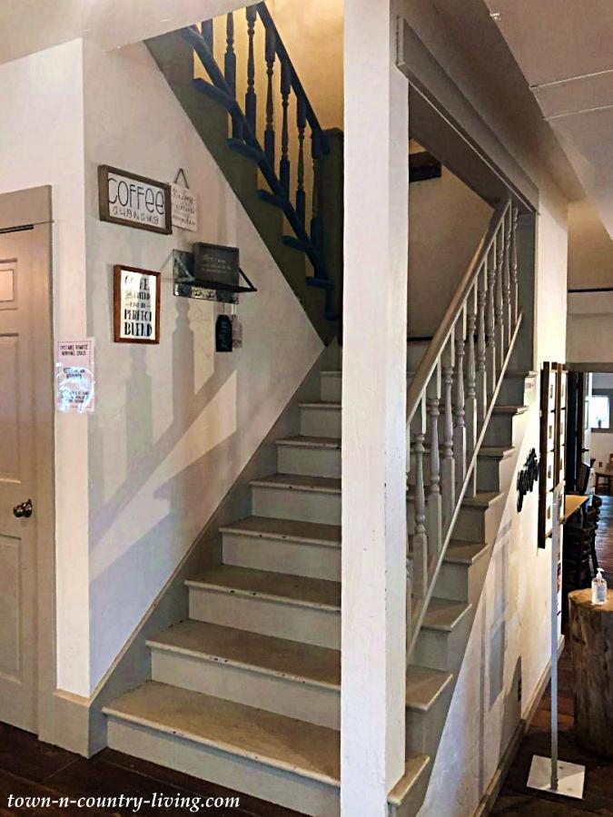 Staircase at Cambridge Market Cafe