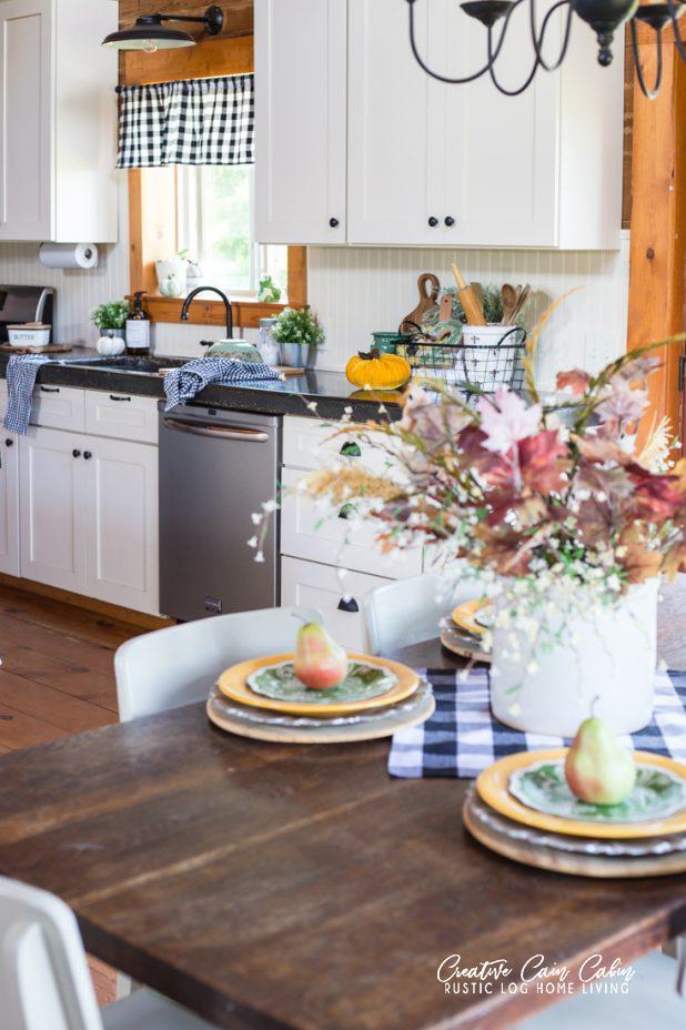 Cabin Farmhouse Kitchen