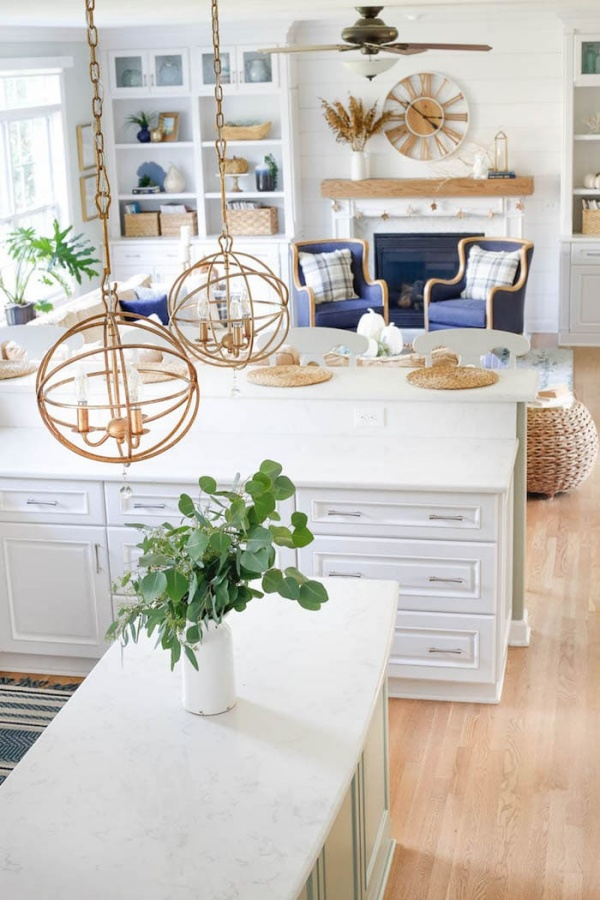 Coastal Kitchen by Sand and Sisal