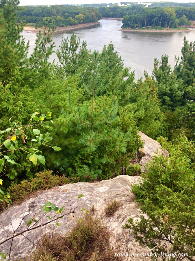 Rocky Bluff Overlooking Illinois River