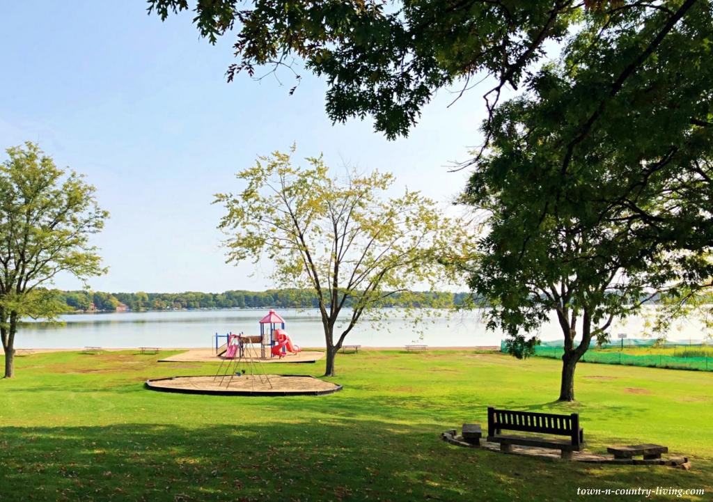 Lake Ripley in Cambridge, Wisconsin