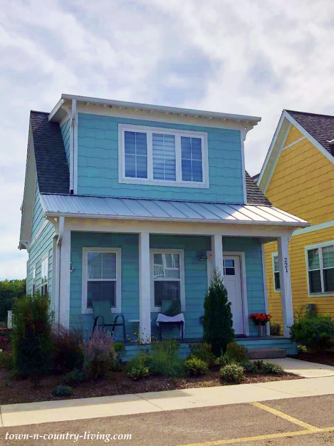 Light Blue Cottage with Full Front Porch