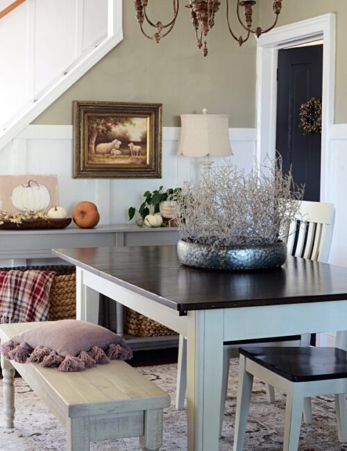 Modern Country Fall Home Tour - the Dining Room