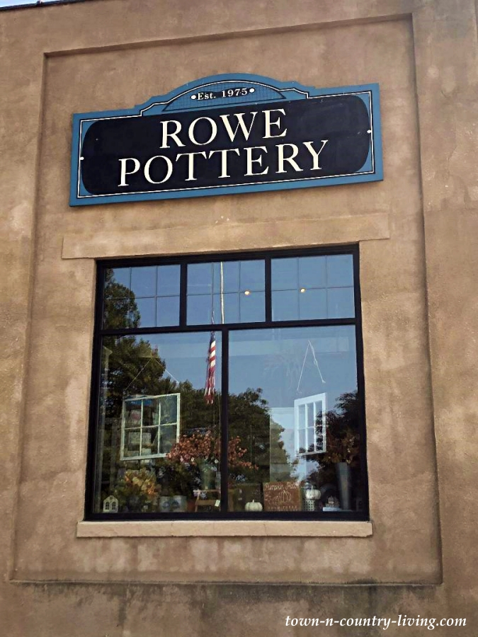 Rowe Pottery Shop in Wisconsin