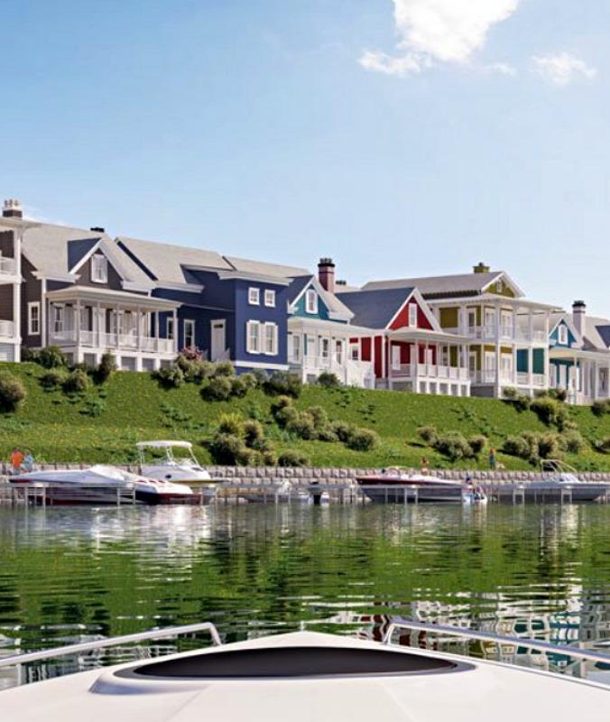 Riverfront Homes at Heritage Harbor Community in Ottawa, Illinois