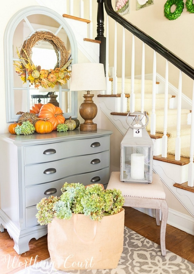 Fall Foyer by Worthing Court