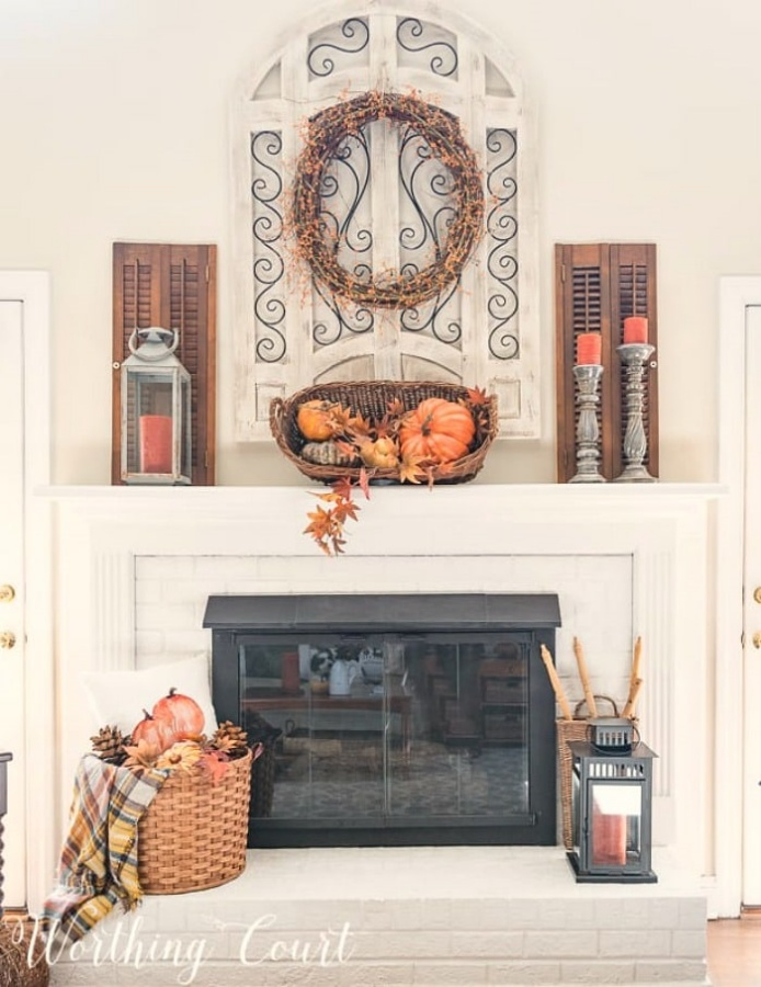 Fall Decor by Worthing Court