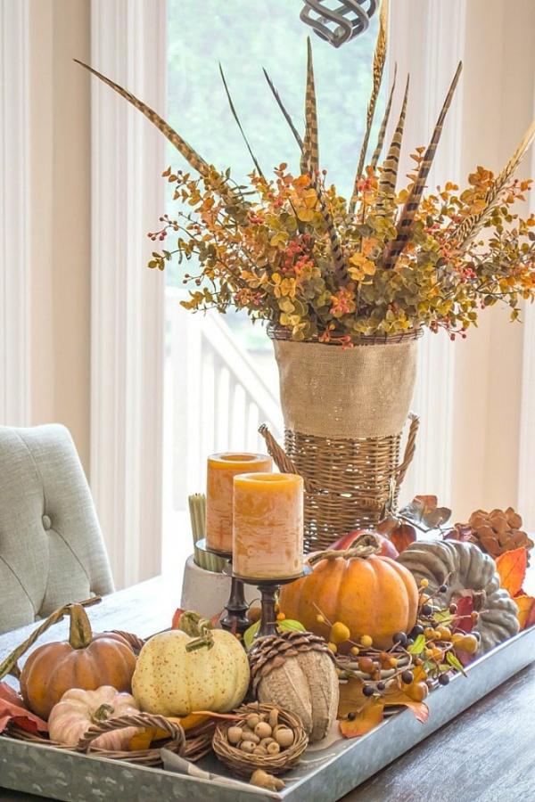 Fall Centerpiece Ideas by Worthing Court